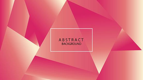 624878906 istock photo Triangular Abstract Background 1144480806