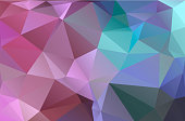 Triangular low poly, pink, lilac, soft, light, mosaic pattern background, Vector polygonal illustration graphic, Creative, Origami style with gradient.
