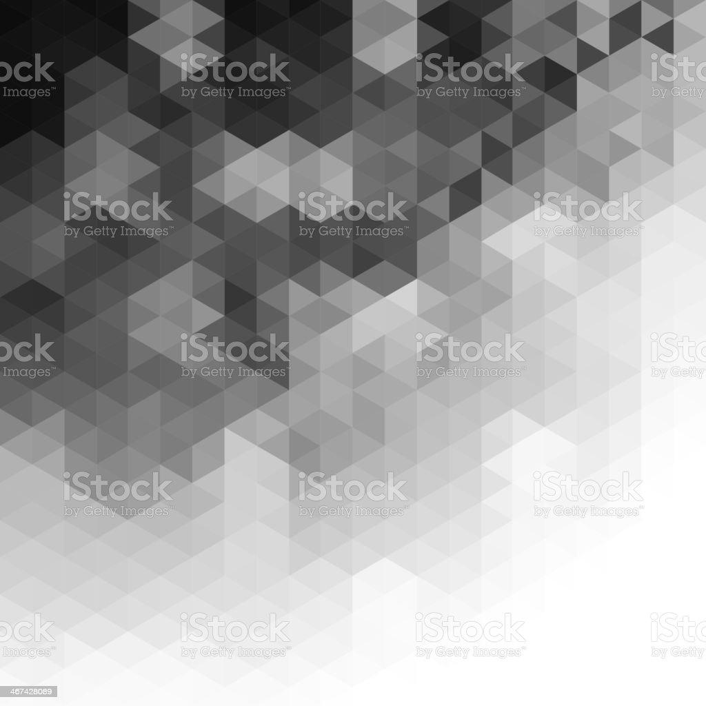 Triangular pattern background royalty-free stock vector art
