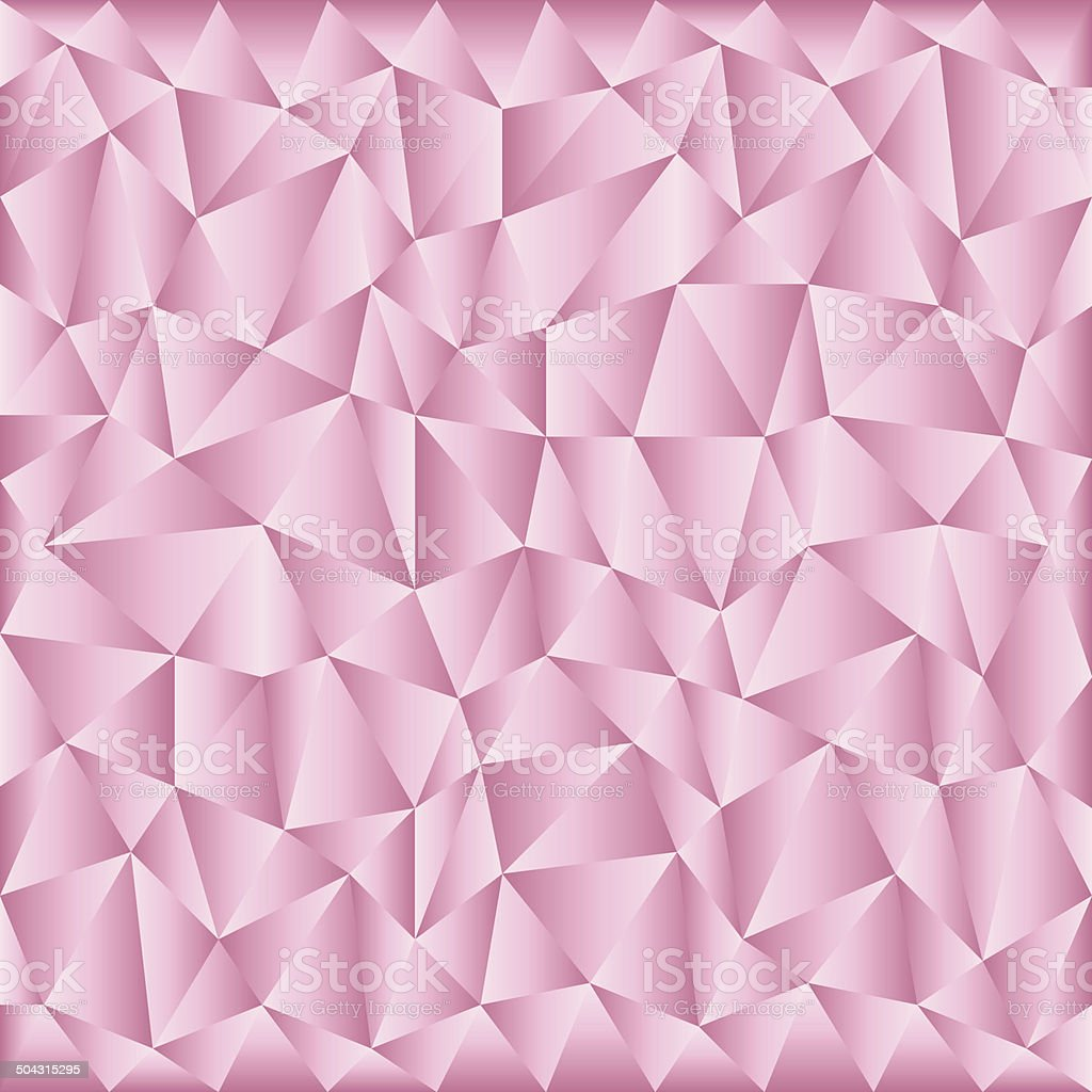 triangular pink background vector art illustration