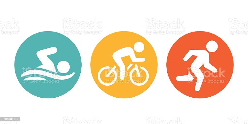 royalty free triathlon clip art vector images illustrations istock rh istockphoto com triathlon stick figure clip art triathlon stick figure clip art