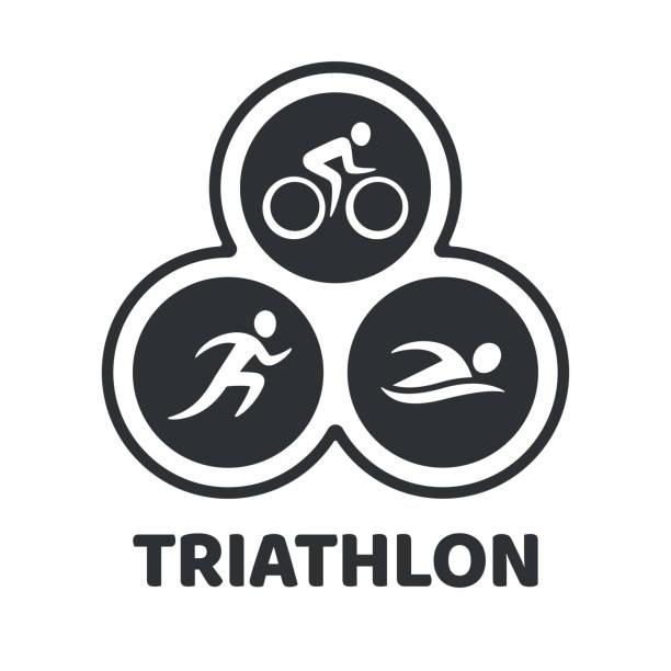 Bildergebnis für triathlon piktogramm