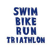 istock Triathlon Swim, Bike, Run 1216838336