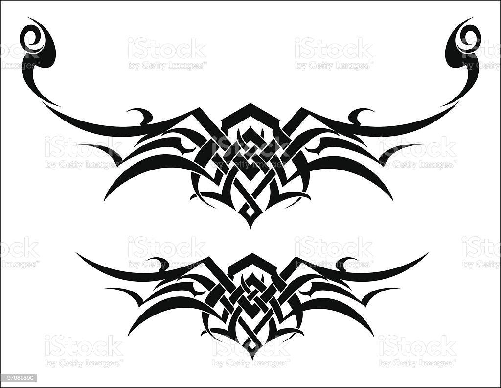 Tribal Art Design royalty-free stock vector art