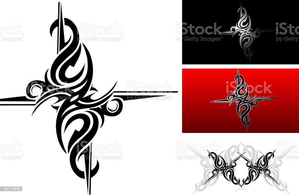 Tribal art royalty-free stock vector art