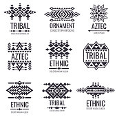 517de1c6f82df ... Tribal aztec vector pattern. Indian graphics for tattoo designs; Native tribal  icon ...