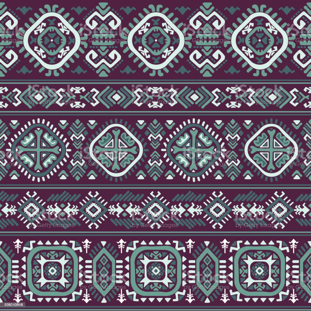 Tribal Aztec vintage seamless pattern royalty-free tribal aztec vintage seamless pattern stock vector art & more images of abstract