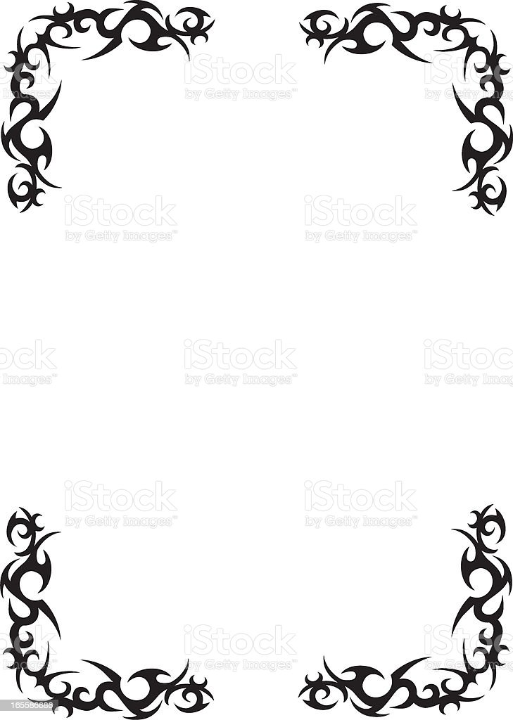 Tribal Border Design royalty-free tribal border design stock vector art & more images of abstract