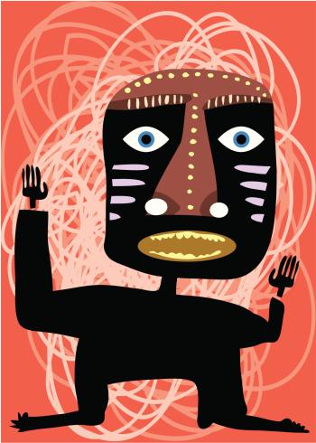 Tribal Design Stockvectorkunst en meer beelden van Afrikaanse Volksstammen