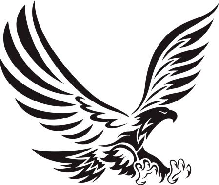 Tribal Eagle Stock Illustration - Download Image Now