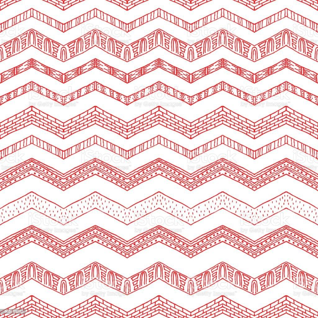 Tribal ethnic ornament seamless pattern. Colorful vector illustration. – Vektorgrafik