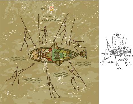 Tribal Fish Hunt