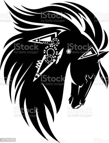 Tribal horse vector id521952855?b=1&k=6&m=521952855&s=612x612&h=z nrsffsq95xeidy2qyodqiaxmgzq2hkz0 cro qyv8=