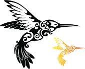 istock Tribal Hummingbird 165796410