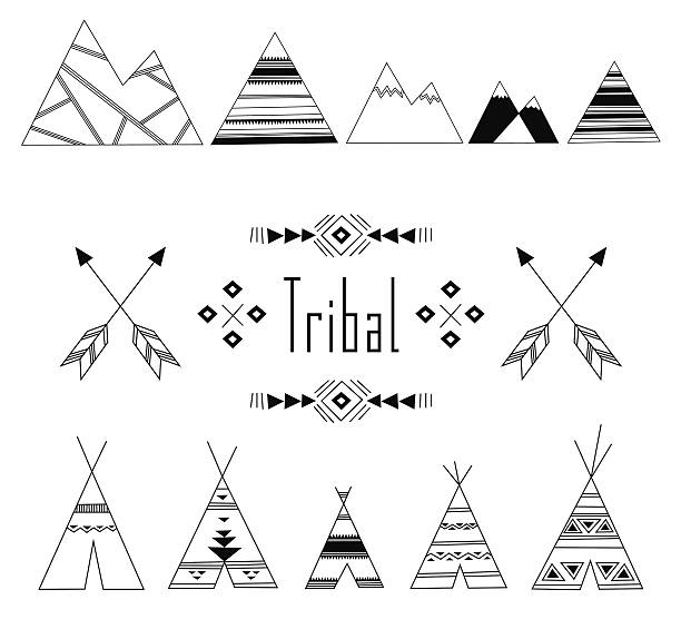 Royalty Free Teepee Clip Art Vector Images Illustrations Istock