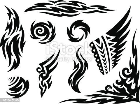 istock Tribal Markings 451575245