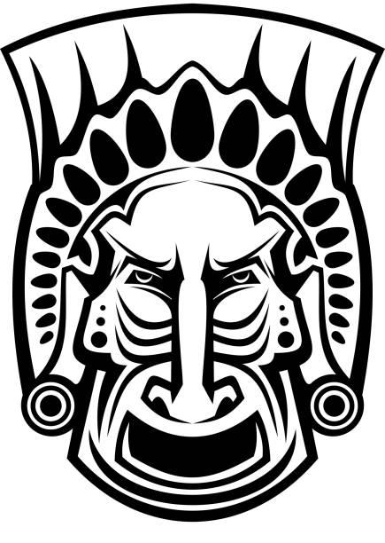 Vectores de Mascaras Aztecas y Illustraciones Libre de Derechos - iStock