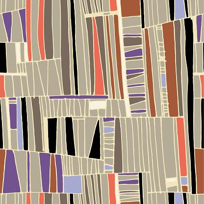 Tribal net n° 1 (Handmade Pattern)