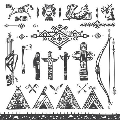 Tribal Ornaments and Symbols