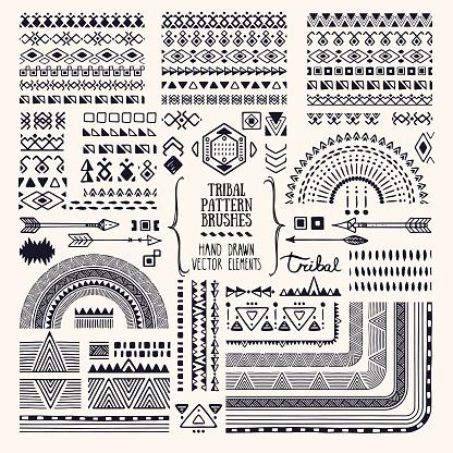 peruvian tattoos stock illustrations