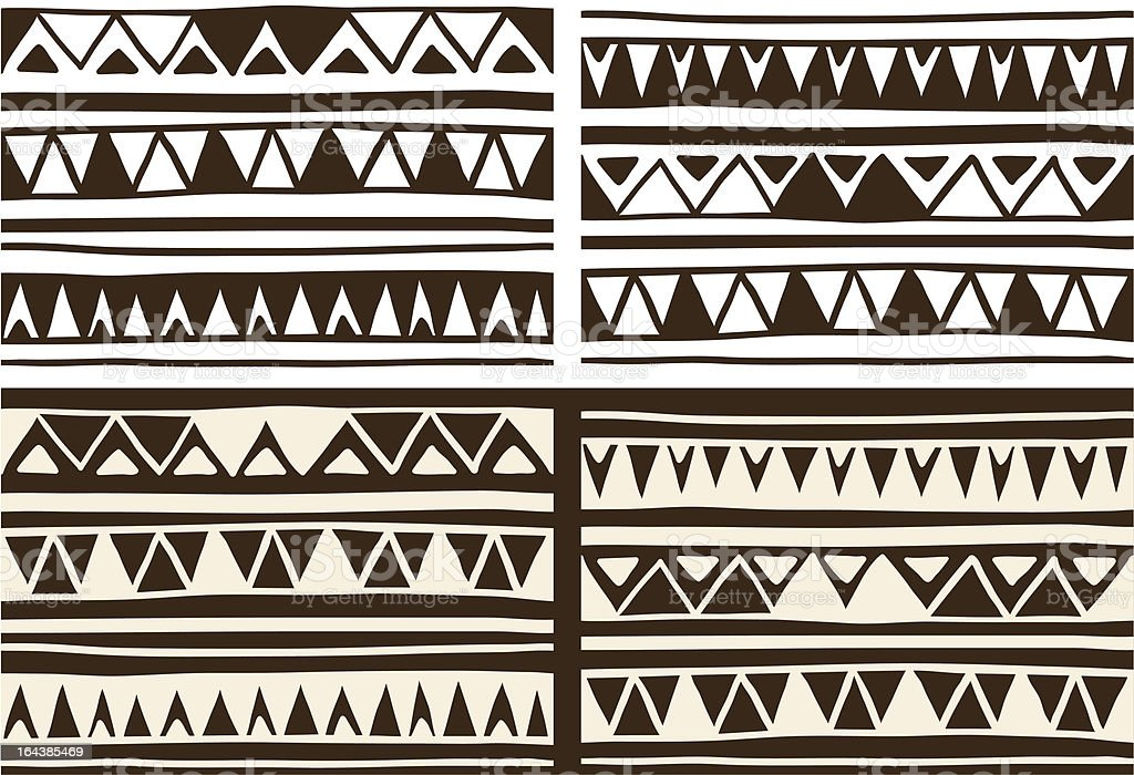 Tribal patterns-2 royalty-free tribal patterns2 stock vector art & more images of abstract