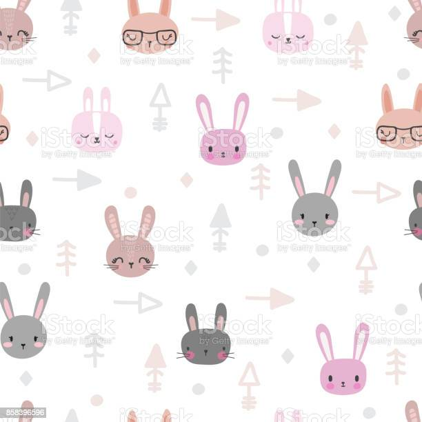 Tribal seamless pattern with cartoon rabbits abstract geometric art vector id858396596?b=1&k=6&m=858396596&s=612x612&h=vlsvhykesws0tbsqpatrbjdoyblpky0bw7iba9n7a 8=