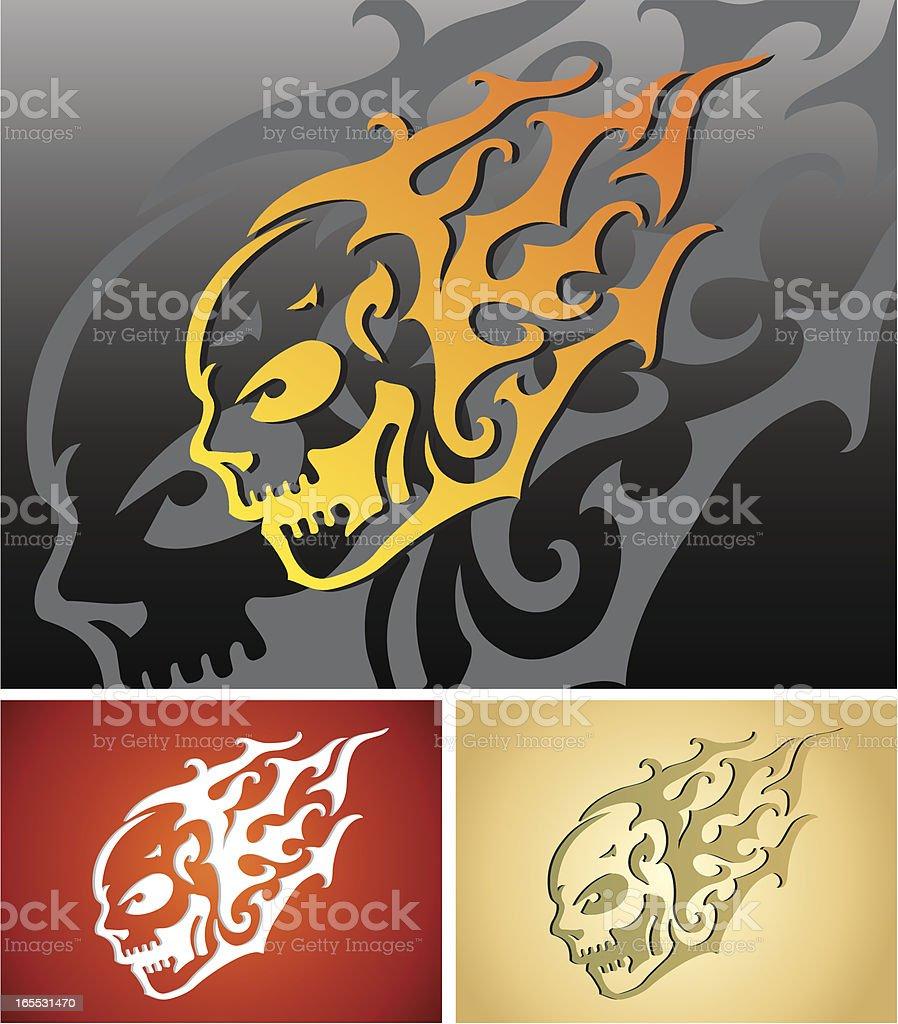 Tribal Skull Tattoo royalty-free tribal skull tattoo stock vector art & more images of animal body part