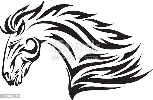 istock Tribal Stallion 163866549