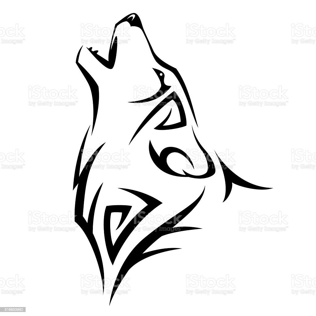 Tribal tatoo vector art illustration