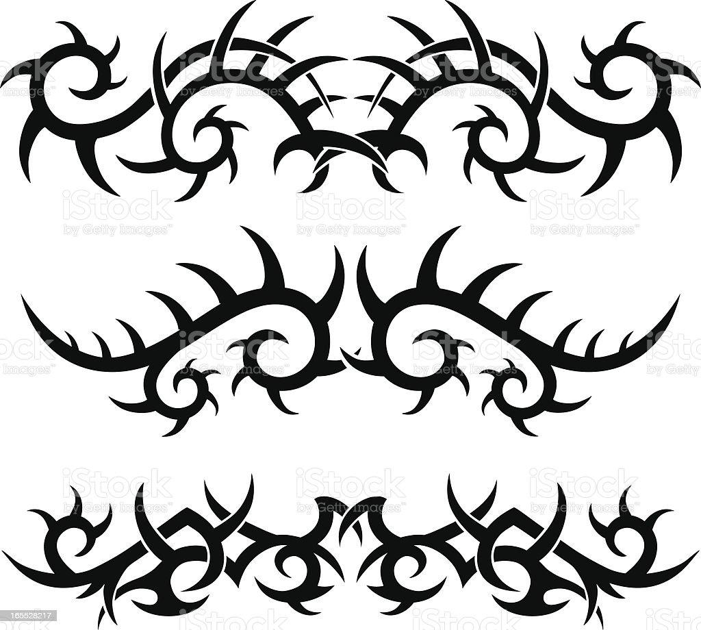 Tribal Tatuaż Wzory Stockowe Grafiki Wektorowe I Więcej