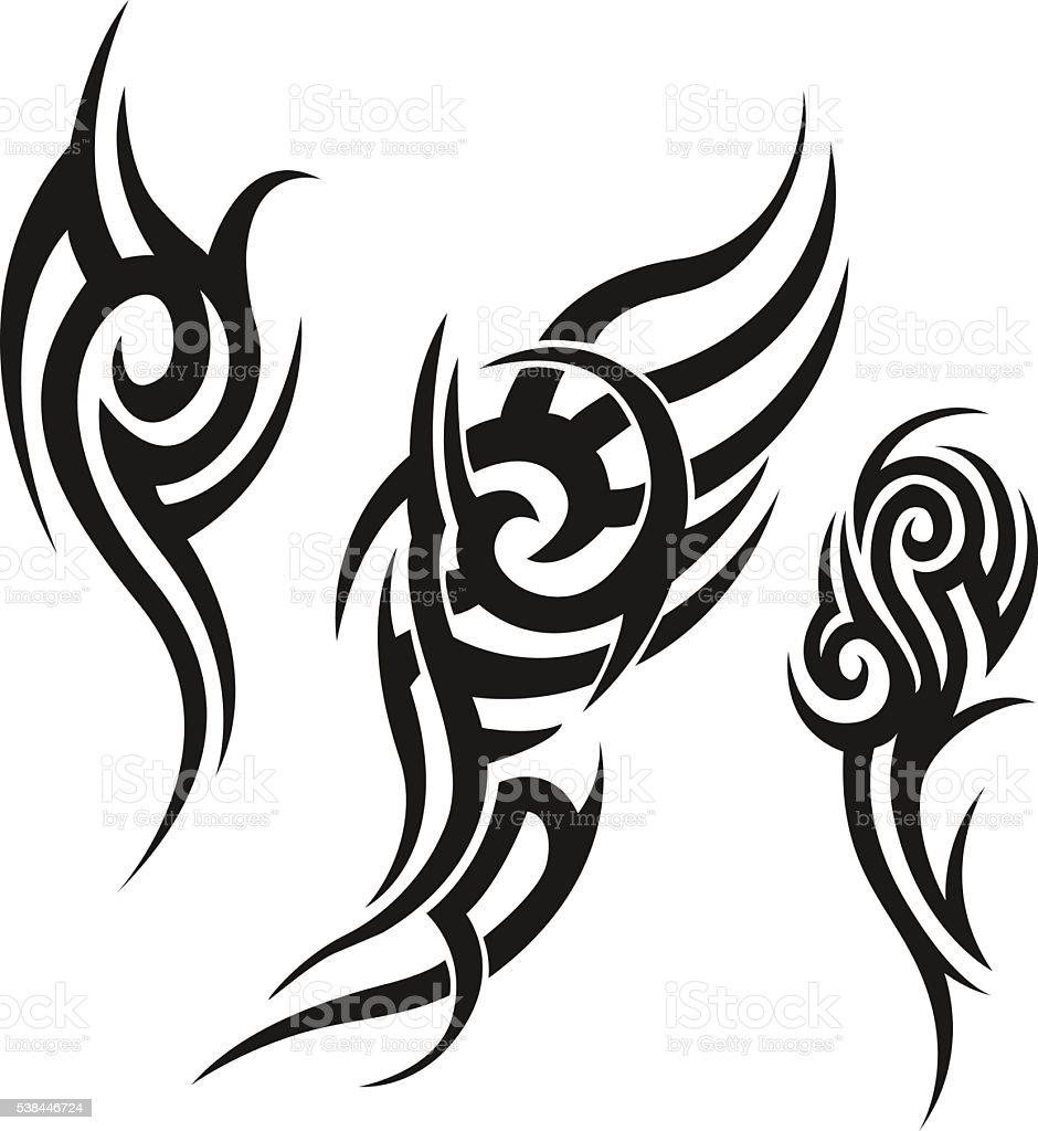 Tribal Tatuaż Męskie Tatuaż Damskie Tatuaż Stockowe
