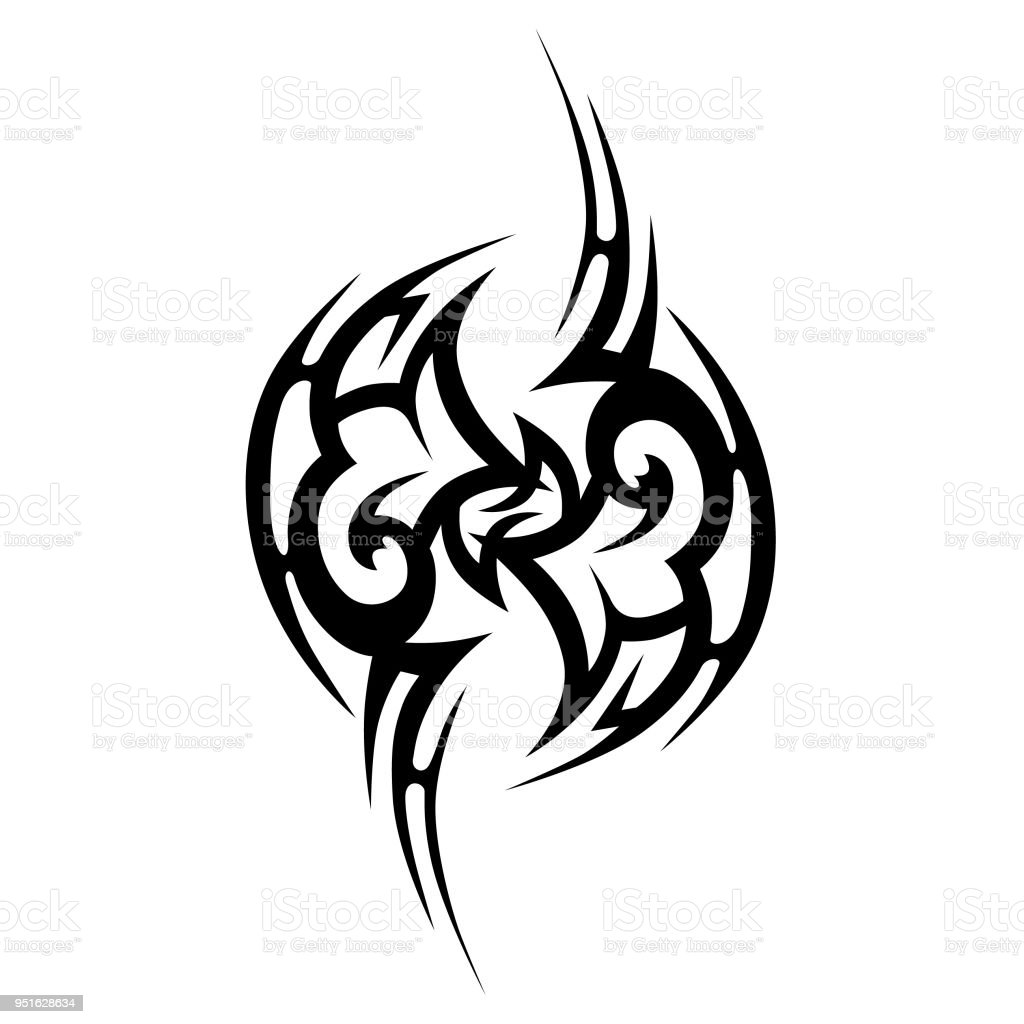 Dessins De Tatouage Tribal Vecteur Desquisse Simple Resume Ornement