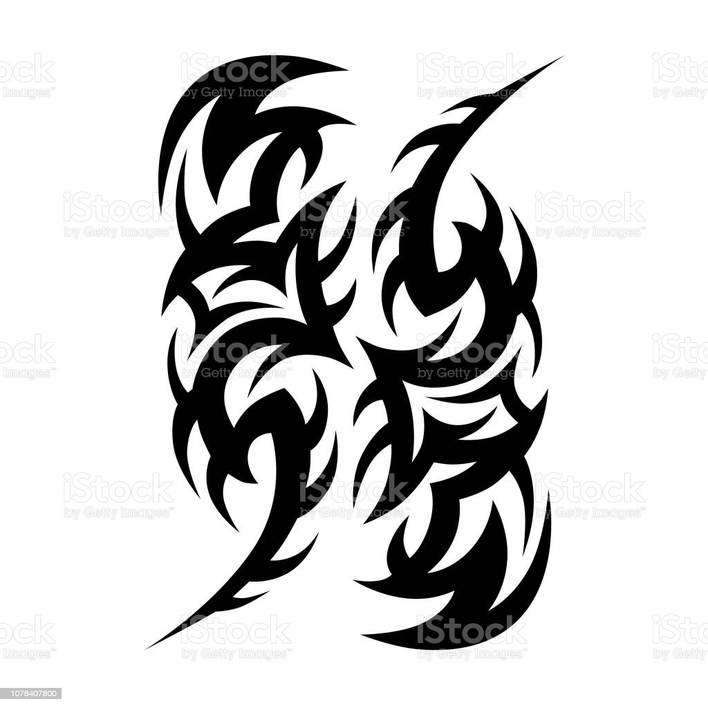 4b62abaf4 Tribal Tattoo Vector Designs Stock Vector Art More Images Of