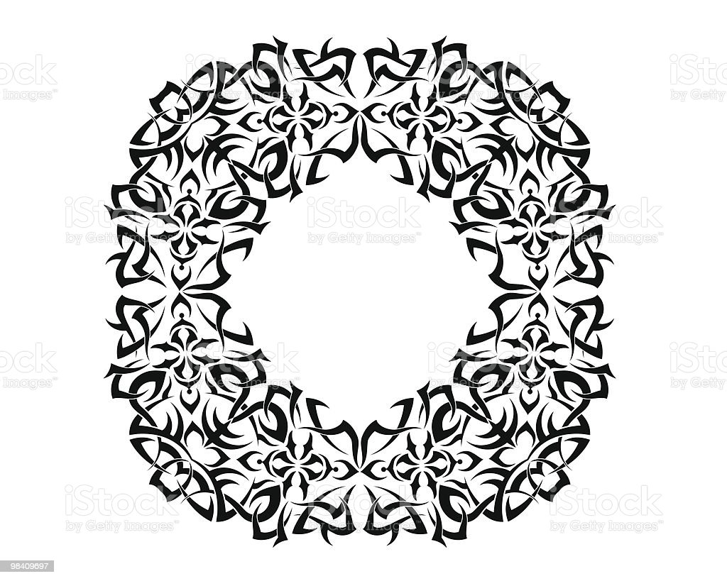 Tribal tattoo royalty-free tribal tattoo stock vector art & more images of abstract