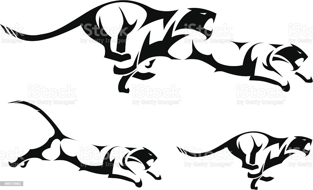 Tribal Tiger royalty-free tribal tiger stock vector art & more images of abstract