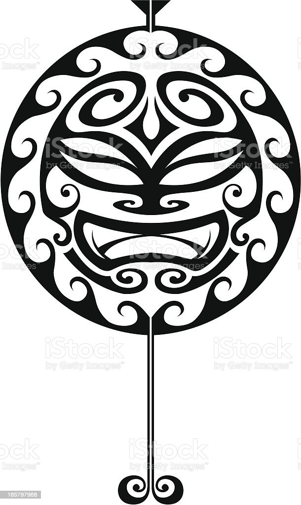 Tribal Water Tattoo Stock Vector Art More Images Of Big Island