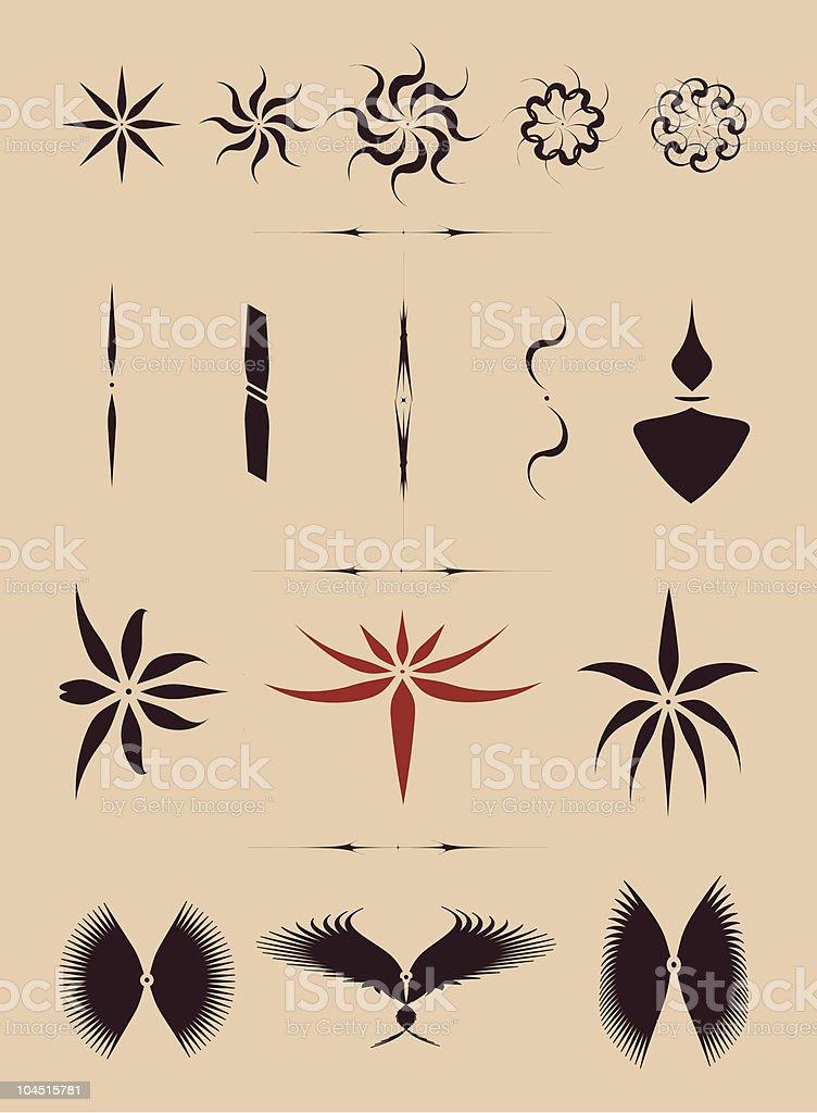 Tribal/tattoo