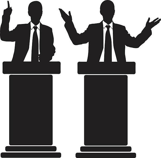 ilustrações, clipart, desenhos animados e ícones de a tribune - político