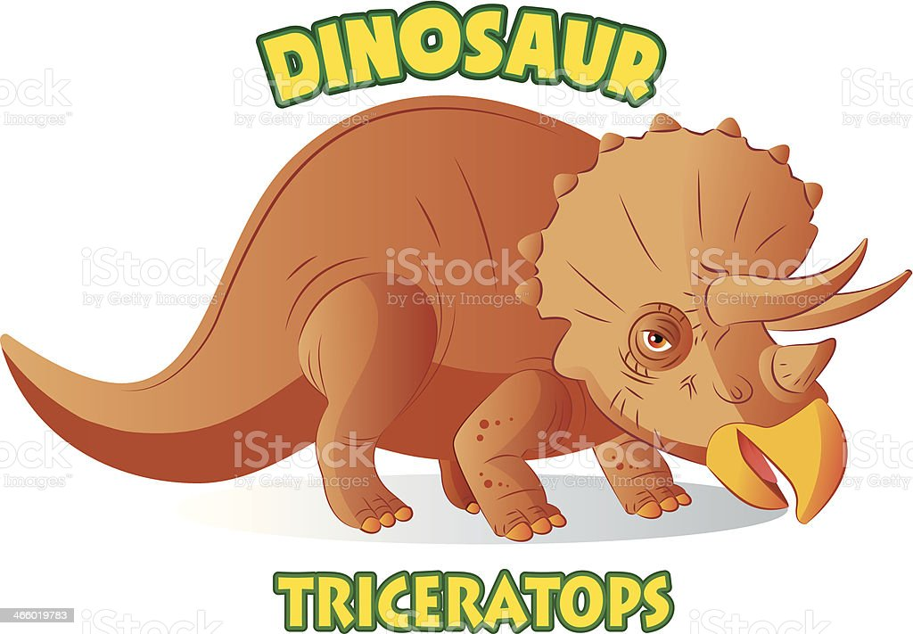 Triceratops royalty-free triceratops stock vector art & more images of ancient