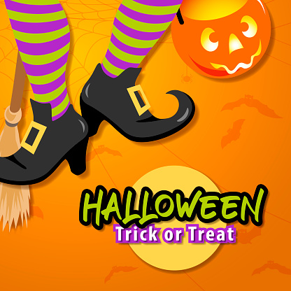 Trick or Treat Dancing Witch