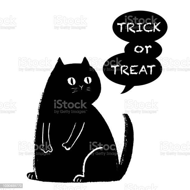 Trick or treat halloween black cat vector id1030935770?b=1&k=6&m=1030935770&s=612x612&h=pen6bgubld ev37rt7q997mcml w53viudvit9985se=