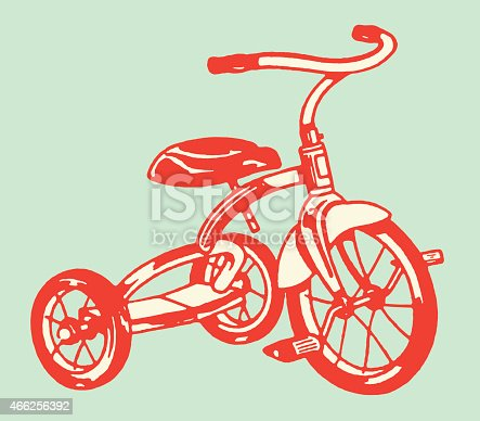istock Tricycle 466256392