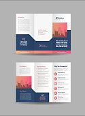 Tri-Fold Brochure Design, 3 Folded Brochure template, Business Advert Brochure for corporate business.