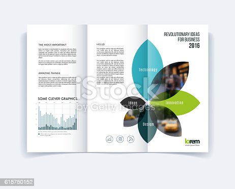 Trifold brochure template layout cover design flyer in a4 for A4 tri fold brochure template