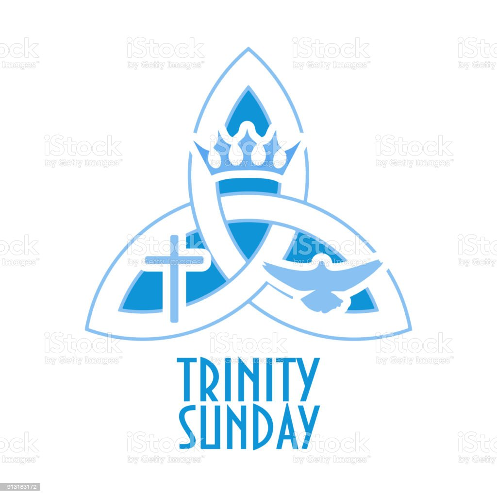 Trinity Sunday Is The First After Pentecost In Western Christian Liturgical Calendar And
