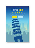 Trip To Pisa Banner