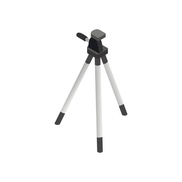 Royalty Free Tripod Clip Art, Vector Images ...