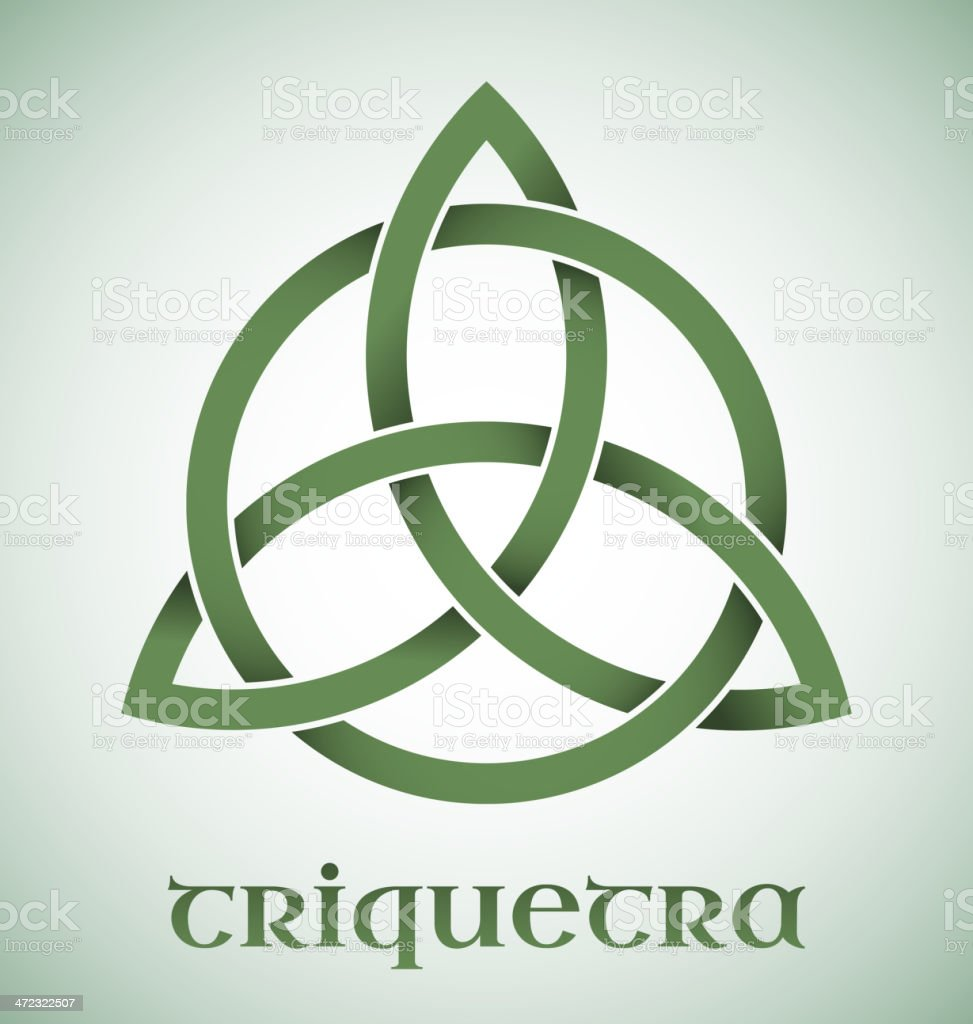 Triquetra symbol royalty-free triquetra symbol stock vector art & more images of abstract