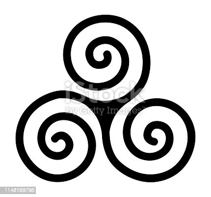 istock triskele, spiral, three-spiral, triple, celt, circle, life, movement 1148189795