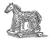 Trojan Horse Drawing
